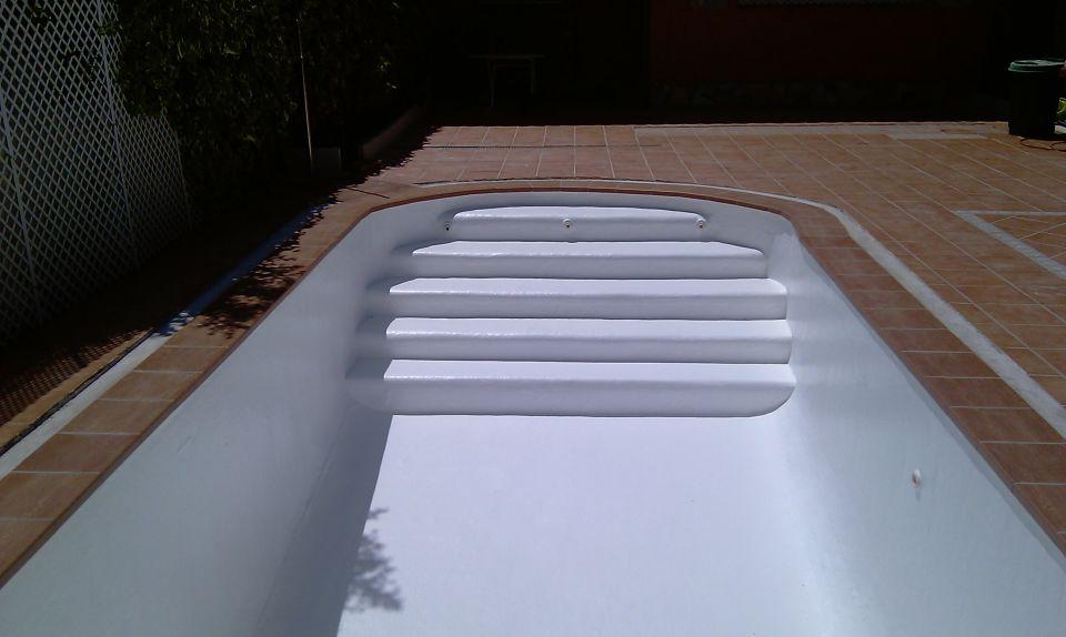 Gresite blanco para piscinas piscinas con gresite blanco for Piscinas con gresite blanco